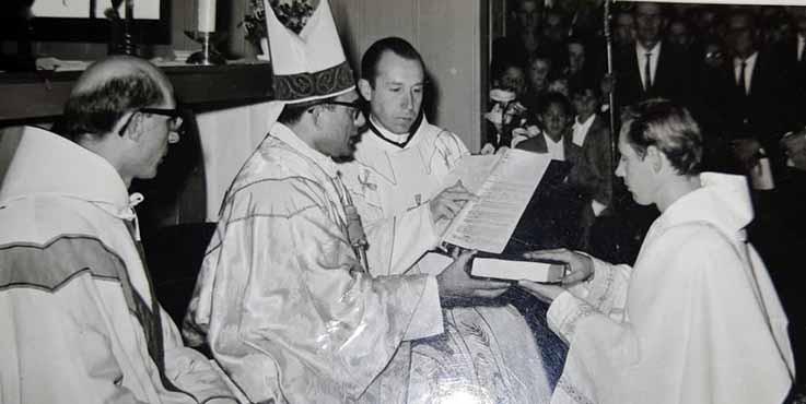 Diácono Lando Rogério Kroetz, 50 anos de ordenação Diaconal