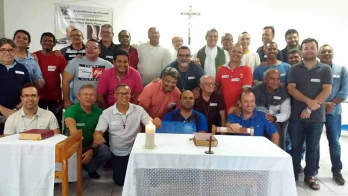 Escola Diaconal da Arquidiocese da Paraíba realiza - Dia de Espiritualidade e Convivência
