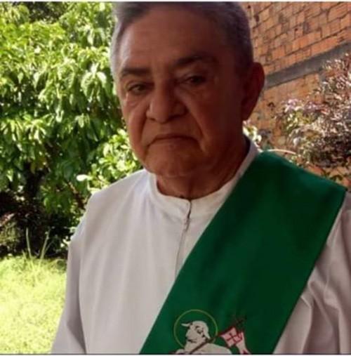 NOTA DE FALECIMENTO - DIÁCONO MANOEL PAULO DA SILVA