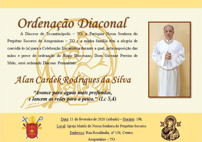 Ordenação Diaconal na Diocese de Tocantinópolis (TO)