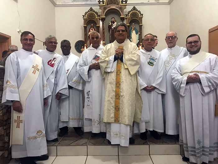 Diácono Trajano ordenado na Arquidiocese de Santa Maria (RS)