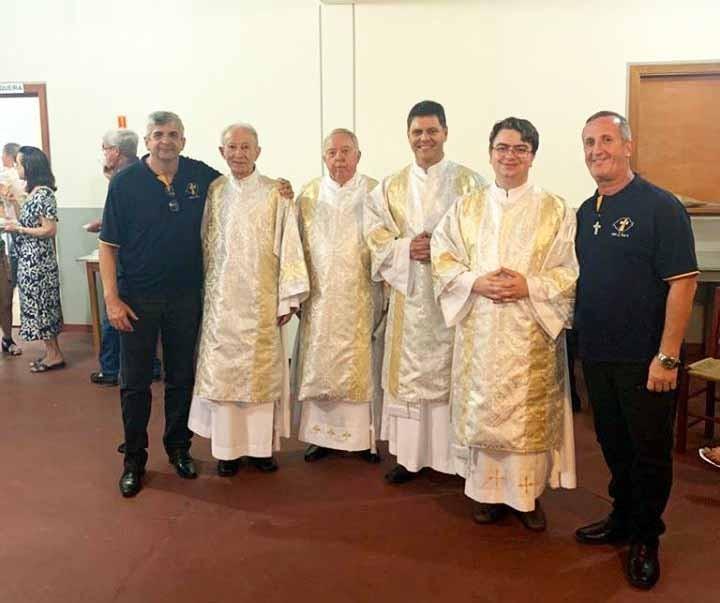 Ordenações Diaconais na Diocese de Vacaria (RS)