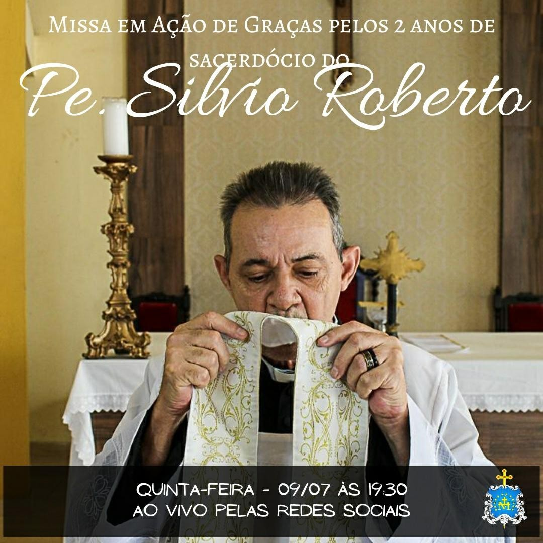 Padre Silvio Roberto, 2º ano de Ordenação Presbiteral