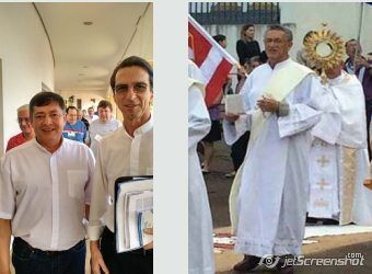 Pai e filho Diáconos celebram aniversário de Ordenação em junho