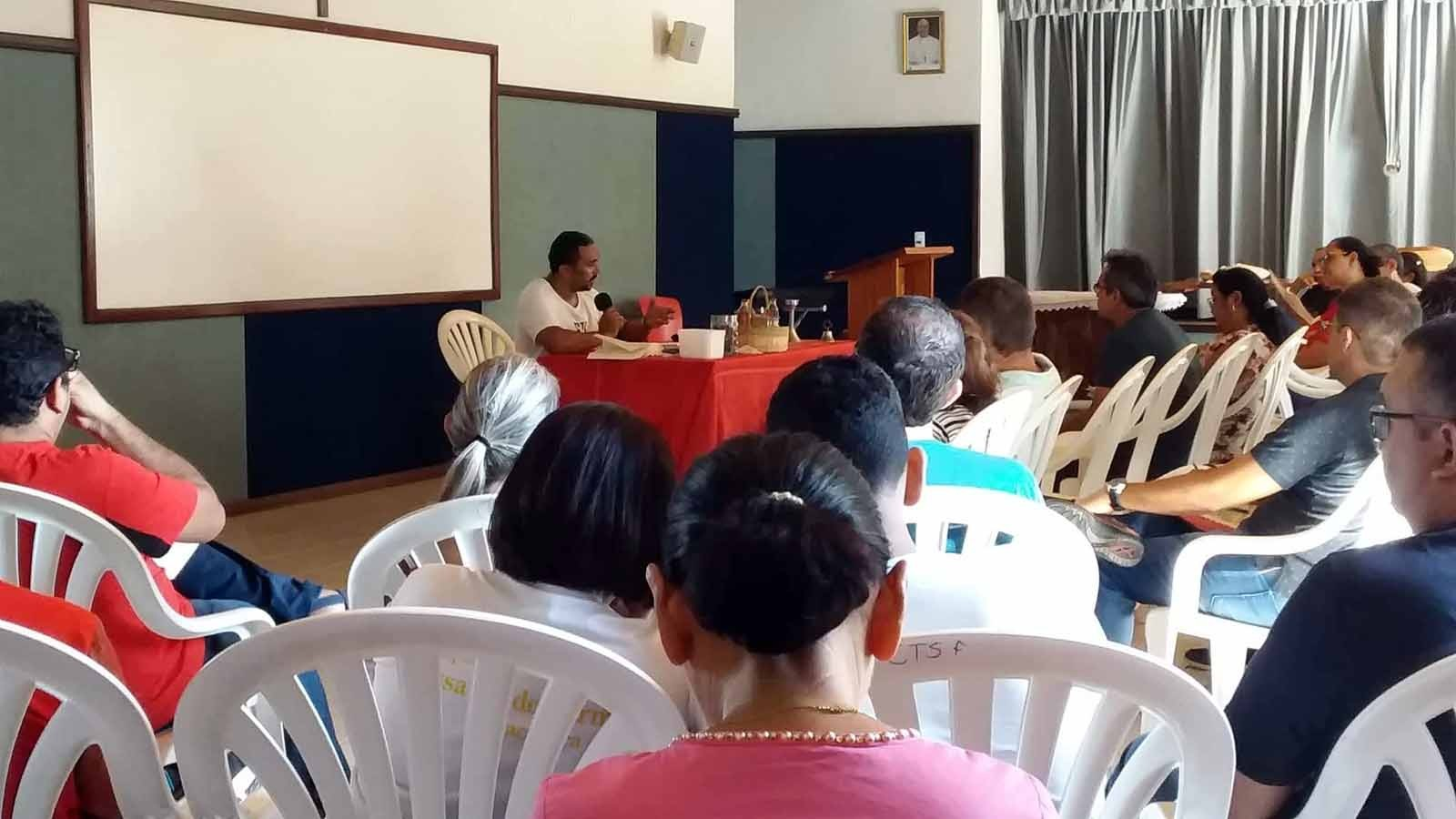 Retiro Anual de Candidatos e Esposas da Diocese de Parnaíba (PI)