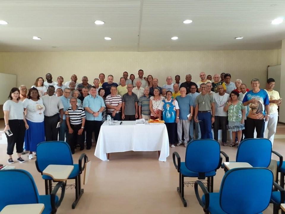 Vice-presidente da CND é assessor do Retiro Espiritual de Diáconos e Esposas da Arquidiocese de Salvador (BA)