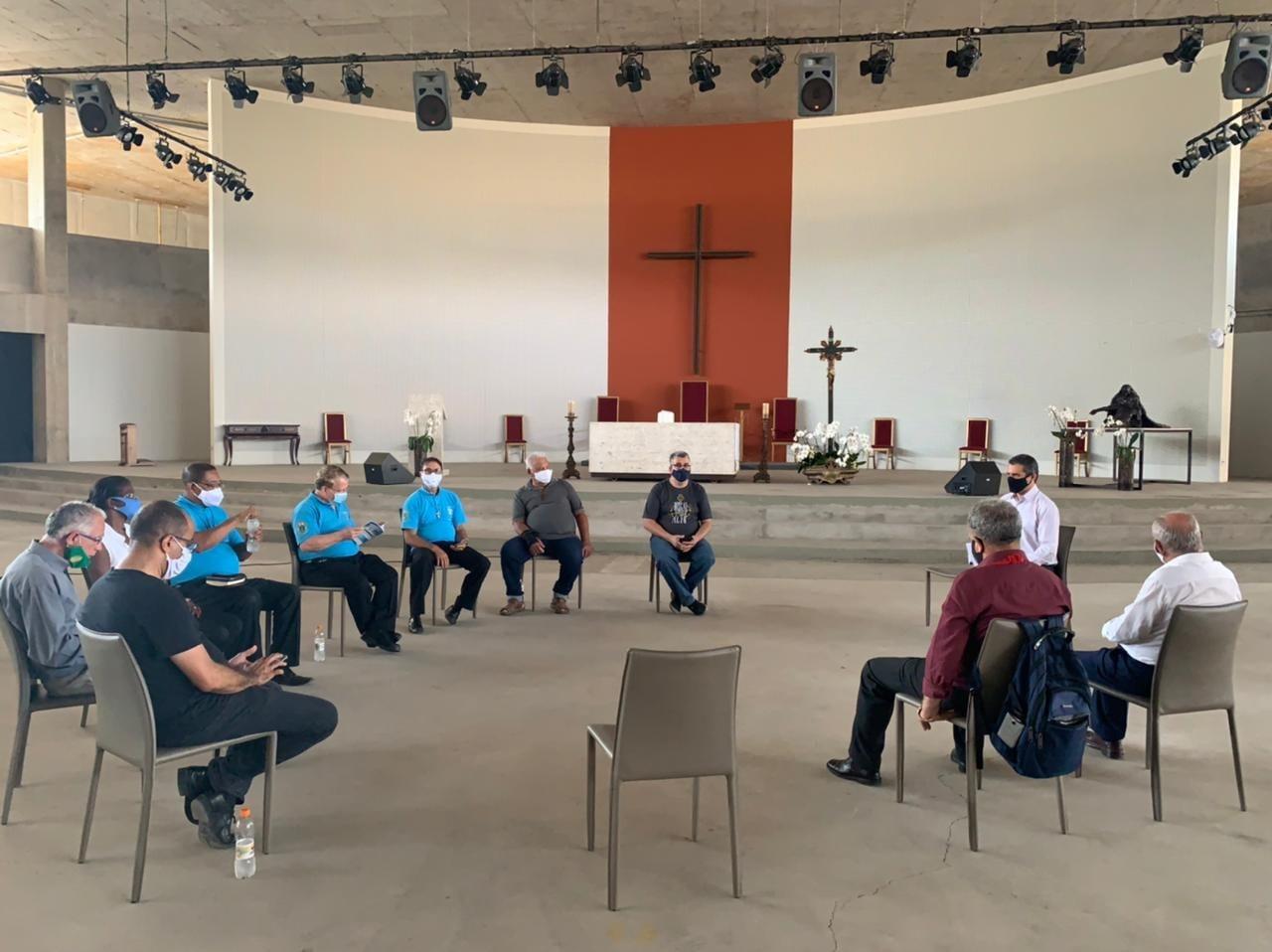 Diaconias na Catedral Cristo Rei
