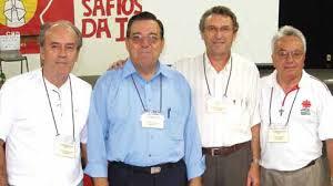 Os quatro primeiros presidentes da CND