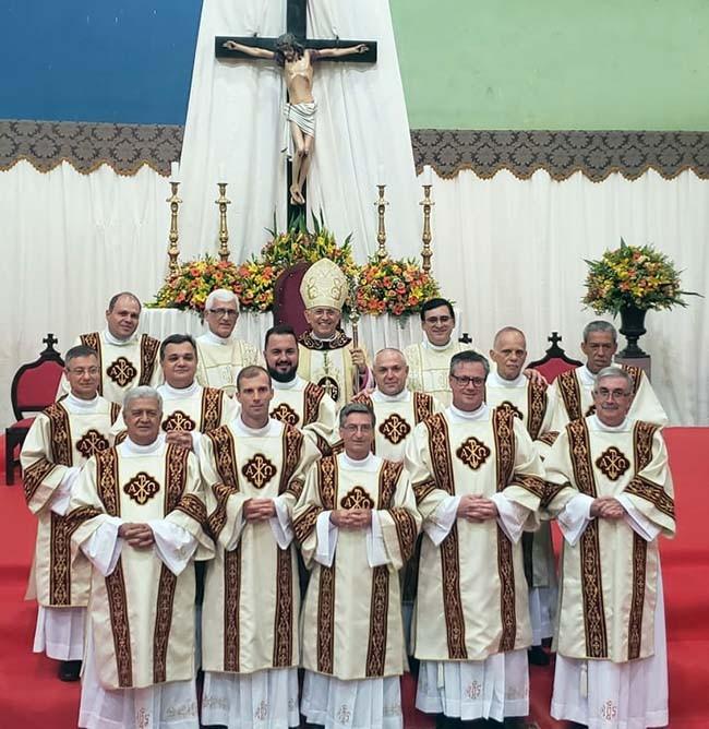 Diocese de Jaboticabal (SP) ganha 12 novos Diáconos Permanentes