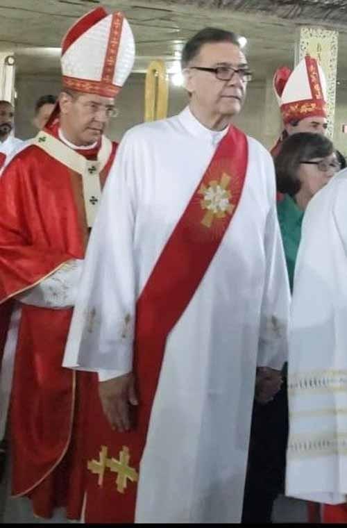 Novo diretor da Escola Diaconal de Belo Horizonte (MG)