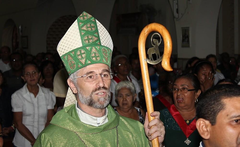 MENSAGEM DA PRESIDÊNCIA DA CND AO BISPO DIOCESANO DE BACABAL (MA)