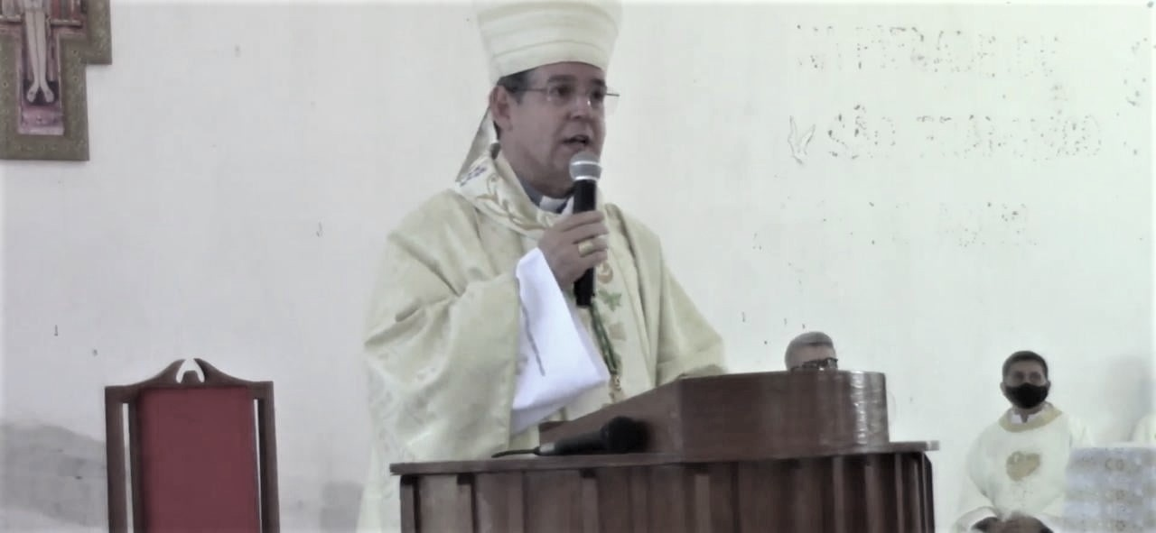 MENSAGEM DA PRESIDÊNCIA DA CRD CENTRO OESTE AO BISPO DIOCESANO DE CRISTALÂNDIA (TO)