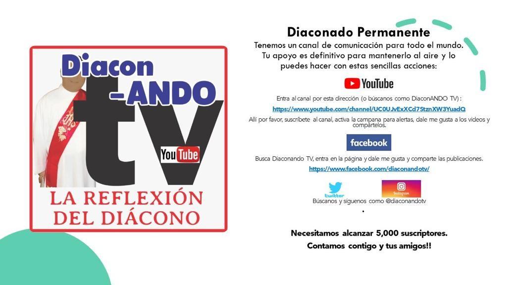 Você conhece DiaconANDO TV?