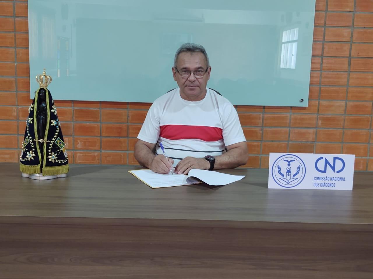 Presidente diácono Chiquinho participou da Reunião virtual do Conselho Permanente da CNBB