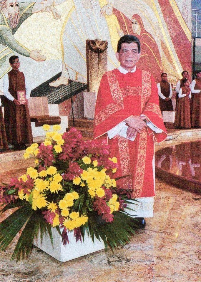 Mensagem da CND ao Diácono Coriolano de Souza Pinto, da Diocese de Castanhal (PA)