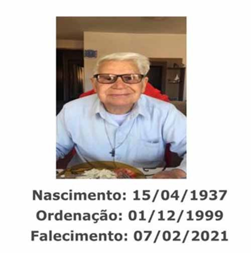 Nota de Falecimento - Diácono José de Oliveira