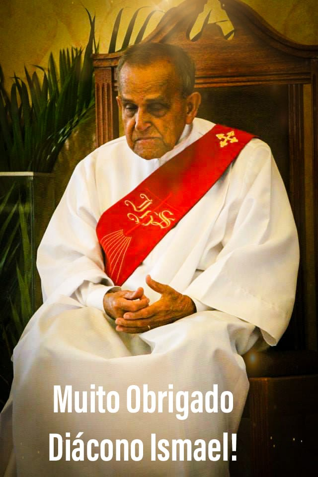 Nota de Falecimento – Diácono Ismael Pamplona da Silva