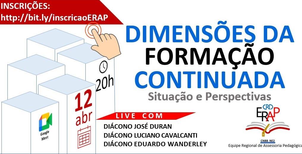 ERAP/CRD NE2 realiza primeira formação dia 12