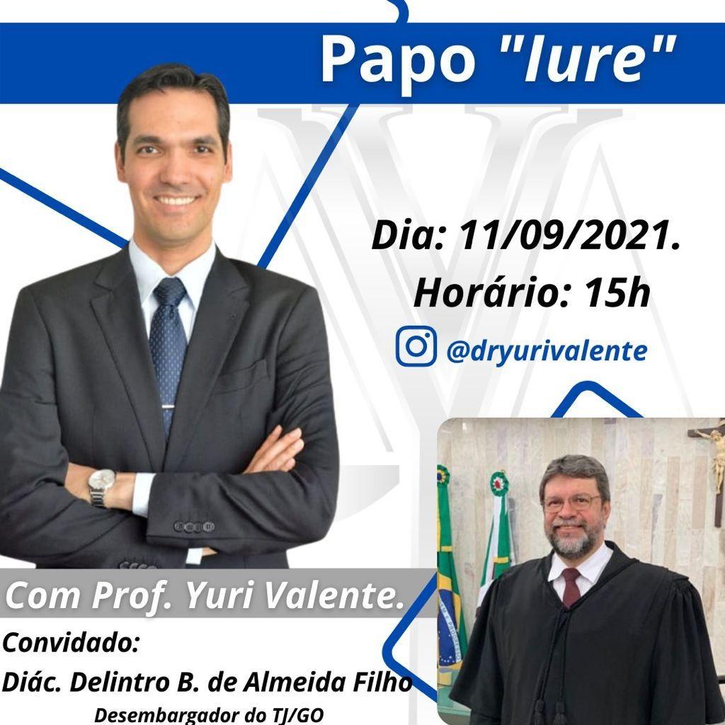 Debate jurídico com o Diácono dr. Delintro B. de Almeida Filho