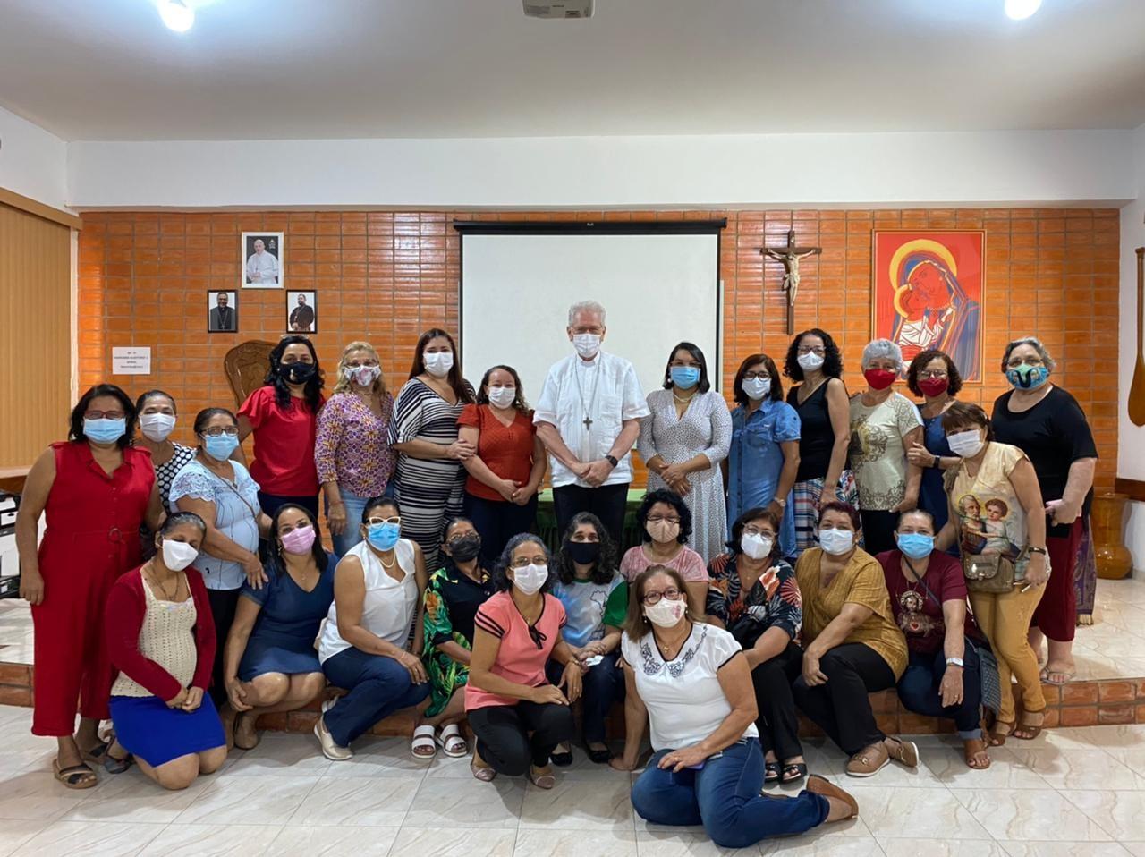 Encontro das esposas dos diáconos com o Arcebispo de Manaus (AM)