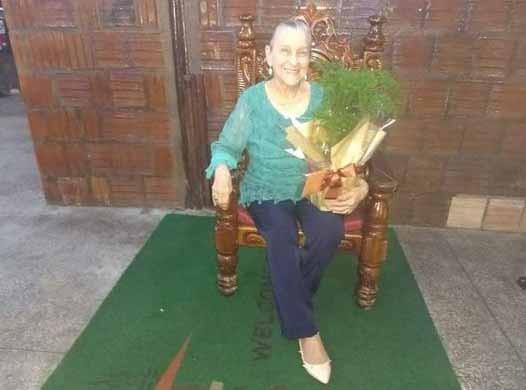 Nota de Falecimento - Sra. Maria Feliz Petilo Alencar