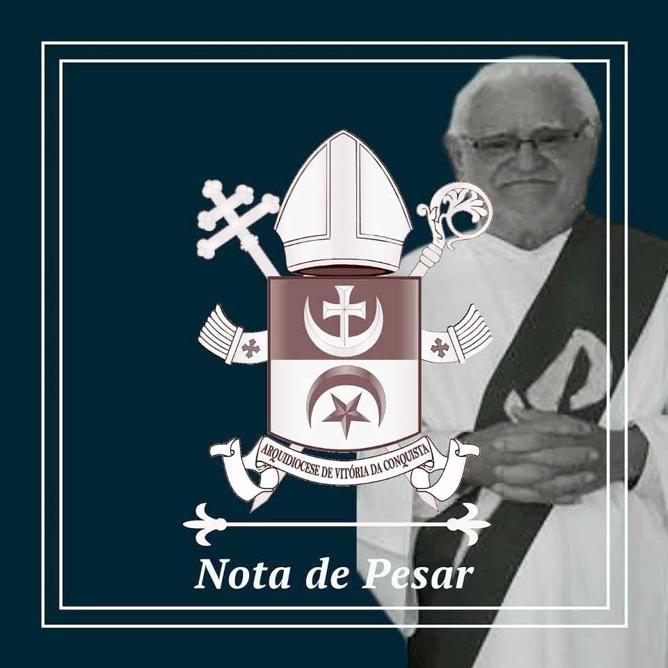 Nota de Falecimento - Diácono Raul Ângelo e Silva