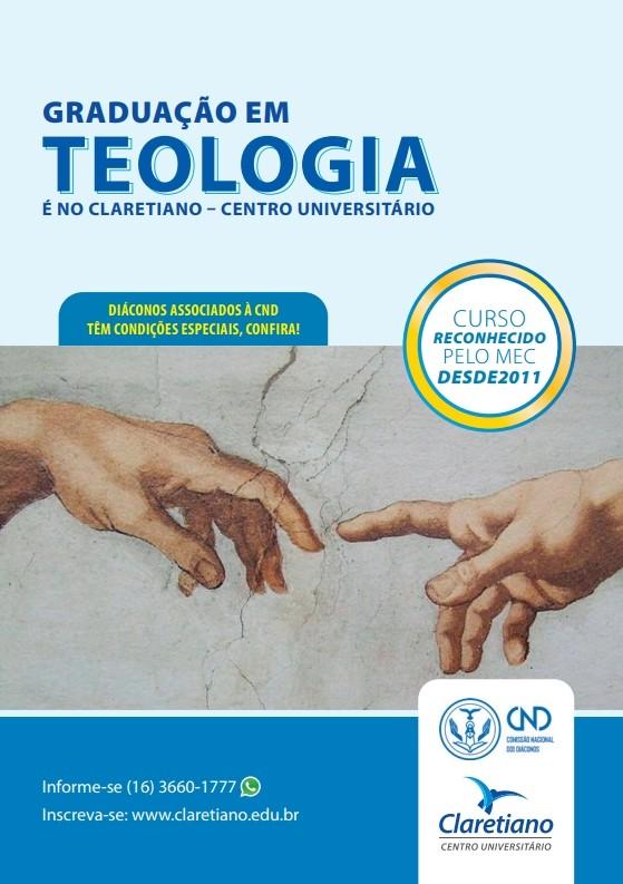 Confirmada a parceria de Graduação em Teologia CND / Claretiano