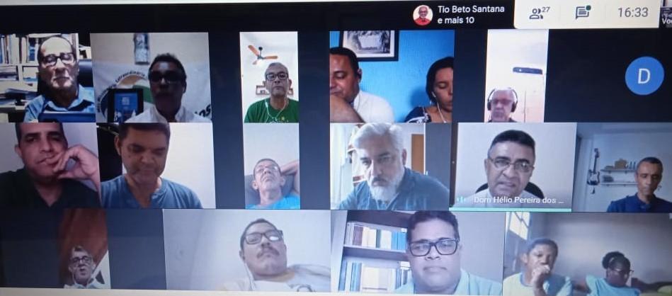SAÚDE MENTAL FOI TEMA DE FORMAÇÃO DOS DIÁCONOS DA CRD NE3
