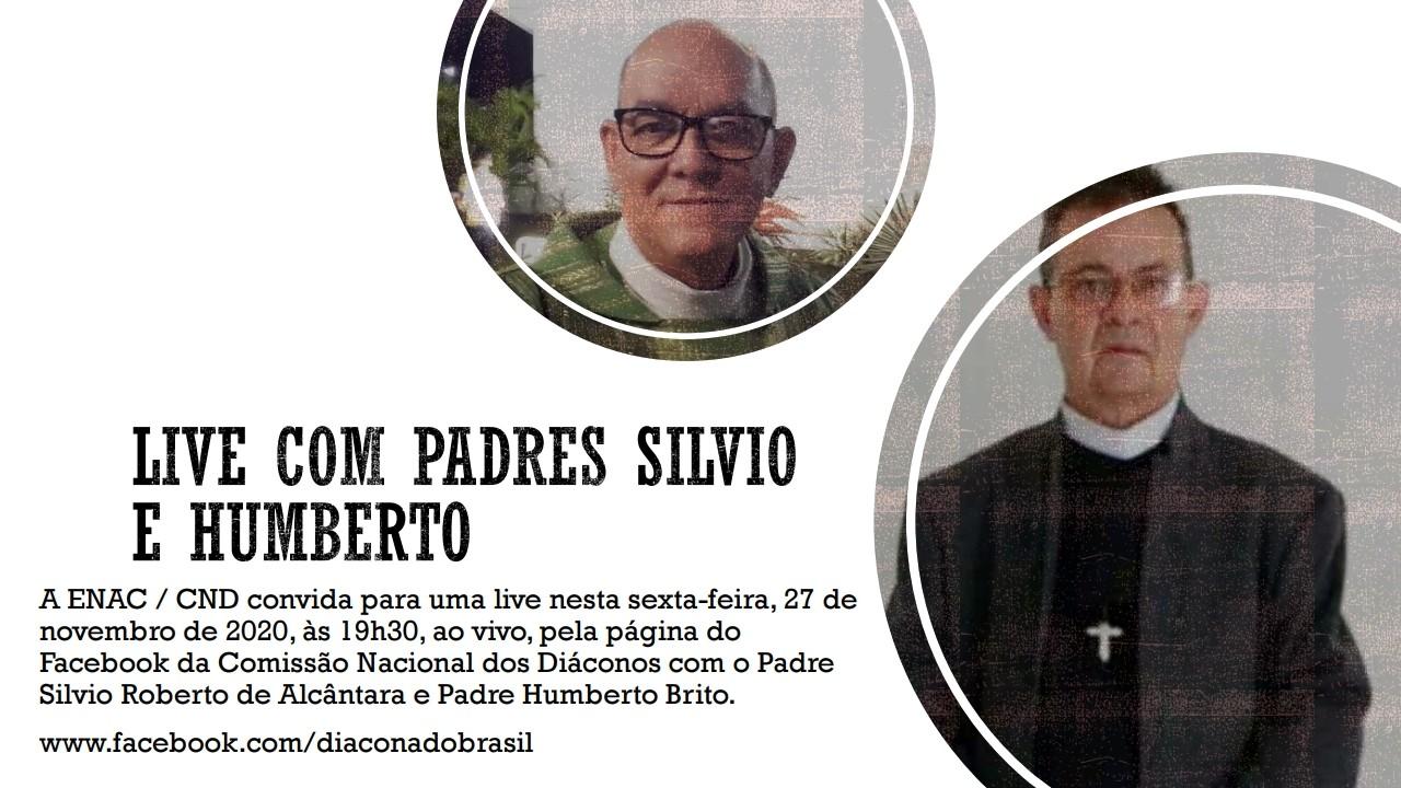 ENAC / CND promove live com Padres Silvio Roberto e Humberto Brito