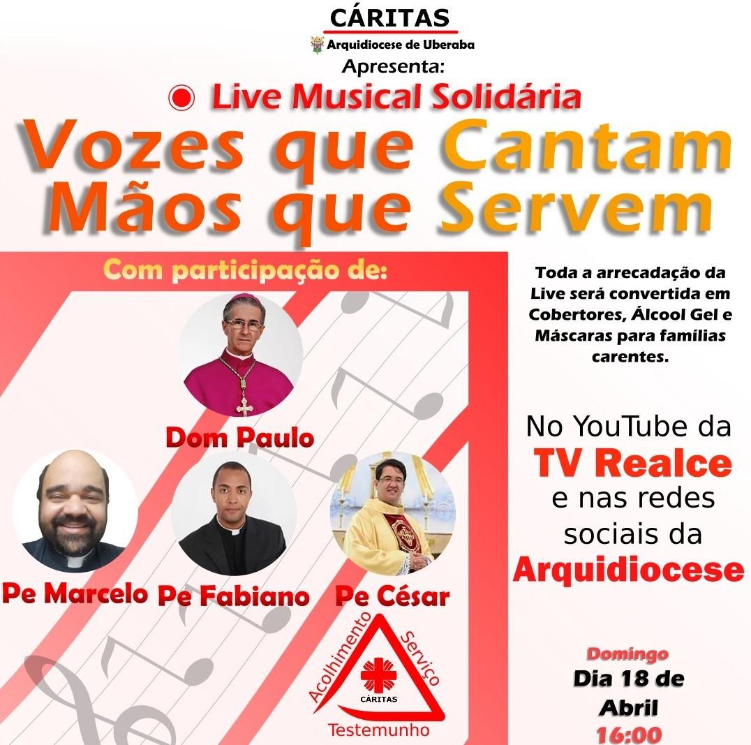 LIVE SOLIDÁRIA BUSCA RECURSOS PARA ATENDER FAMÍLIAS CARENTES DE UBERABA