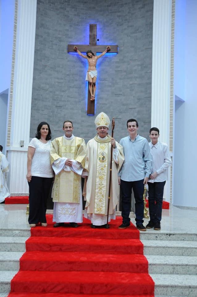Celso Joaquim Verza foi ordenado Diácono Permanente na Diocese de Foz do Iguaçu (PR)