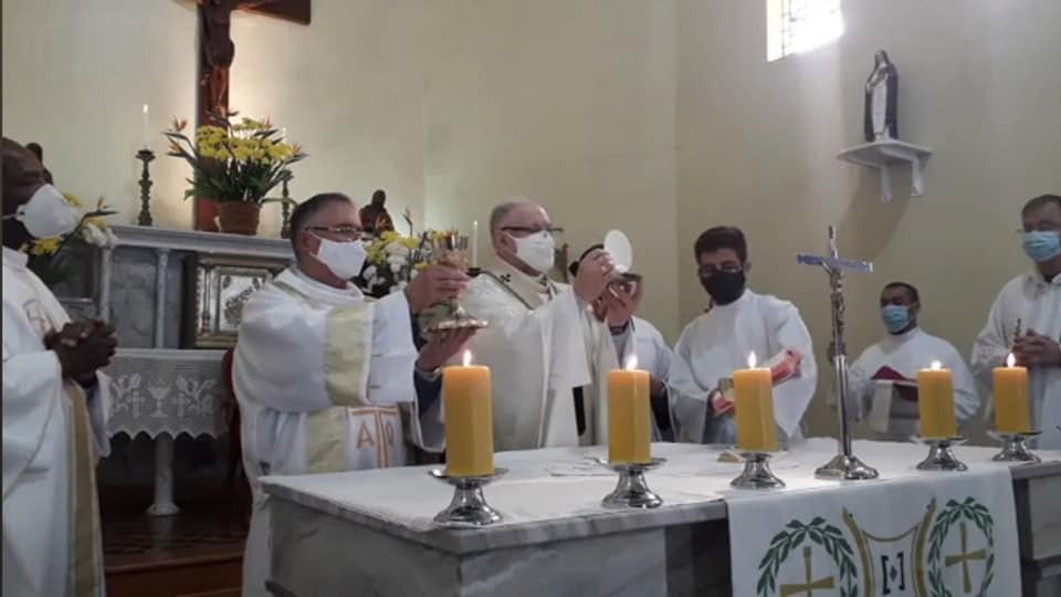 CLÁUDIO GARCIA FOI ORDENADO DIÁCONO PERMANENTE NA ARQUIDIOCESE DE PELOTAS (RS)