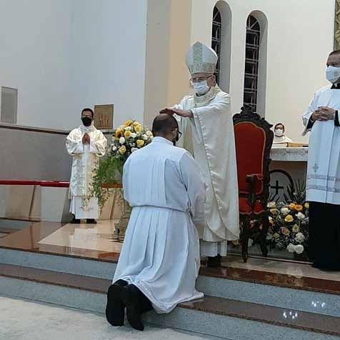 Ricardo José Evangelista foi ordenado Diácono Permanente na Diocese de Anápolis (GO)