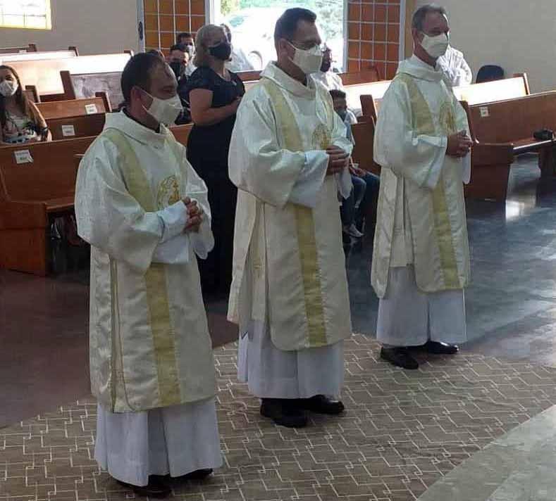 Diocese de Ponta Grossa (PR) recebe 3 novos Diáconos Permanentes