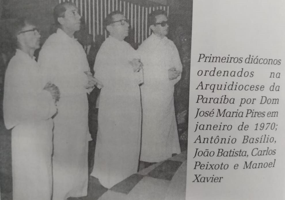 Diácono Manoel Xavier completa 51 anos de ordenação