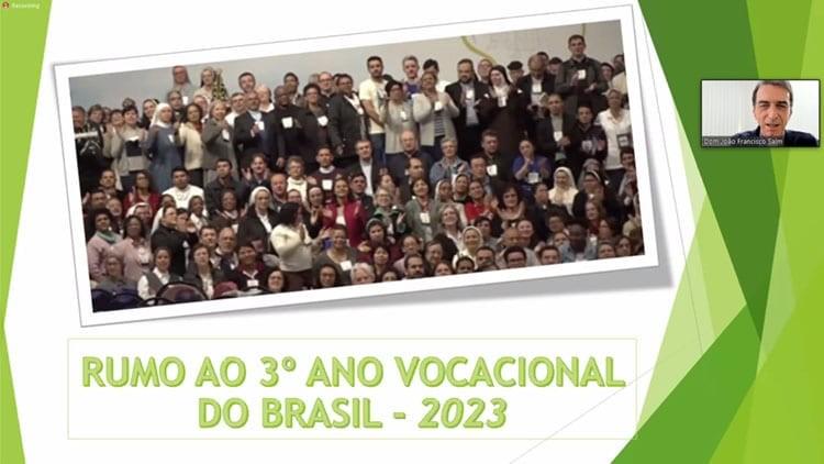 """""""VOCAÇÃO: GRAÇA E MISSÃO"""" É A ESCOLHA DA COMISSÃO CENTRAL PARA O TEMA DO ANO VOCACIONAL 2023"""