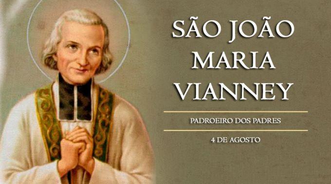 Memória de São João Maria Vianney - Dia do Padre