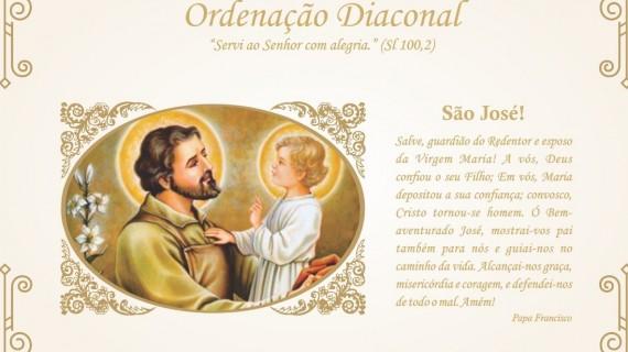 ARCEBISPO DA PARAÍBA ORDENARÁ TRÊS DIÁCONOS PERMANENTES