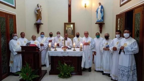 Diáconos da Diocese de Abaetetuba (PA) realizaram Retiro Espiritual